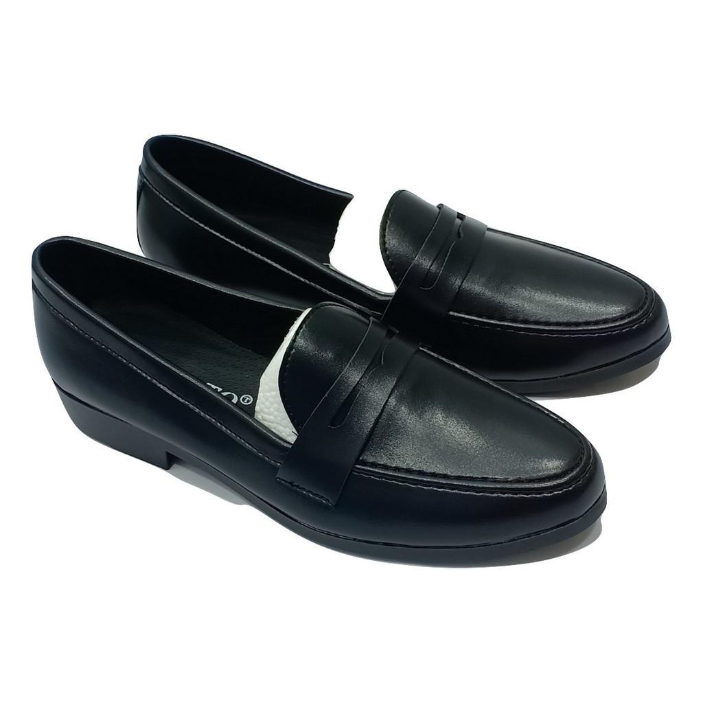 Giày tây nam da mềm không khóa