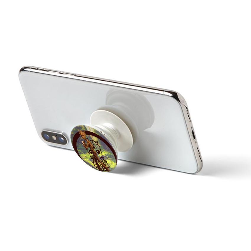 Gía đỡ điện thoại đa năng, tiện lợi - Popsockets - In hình GROOT 01 - Hàng Chính Hãng