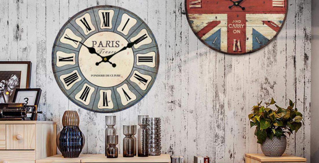 Đồng hồ treo tường Vintage WS30