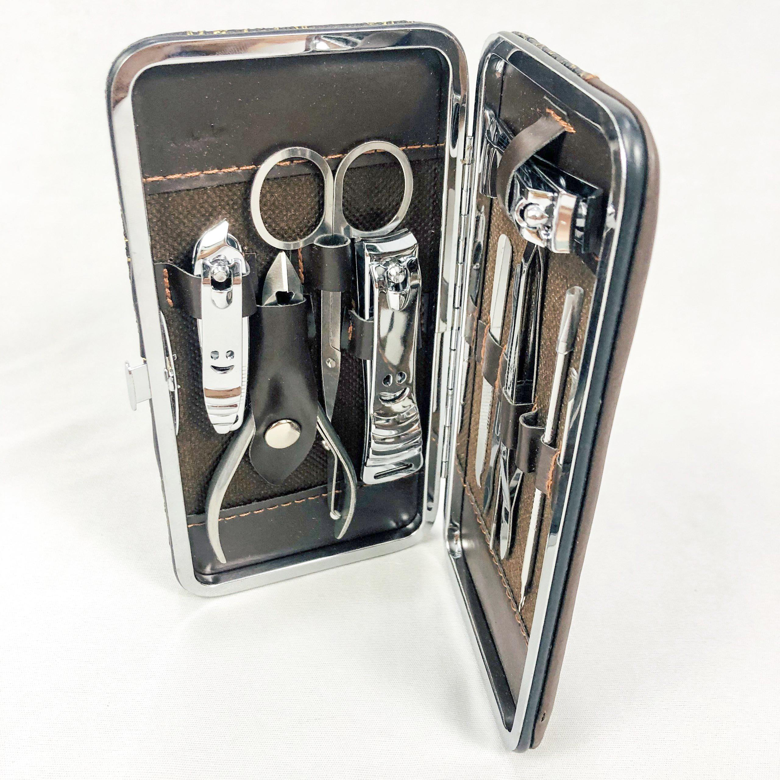 Bộ 11 món dụng cụ kềm cắt móng tay GNG