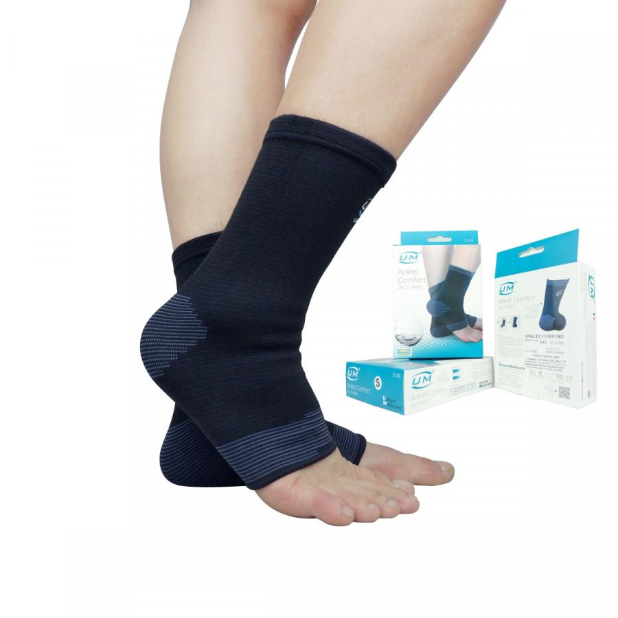 Bó cổ chân United Medicare Grey (cặp) (D04)