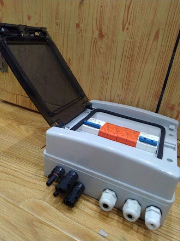 Tủ điện cho hệ thống năng lượng mặt trời 3kw 1 pha
