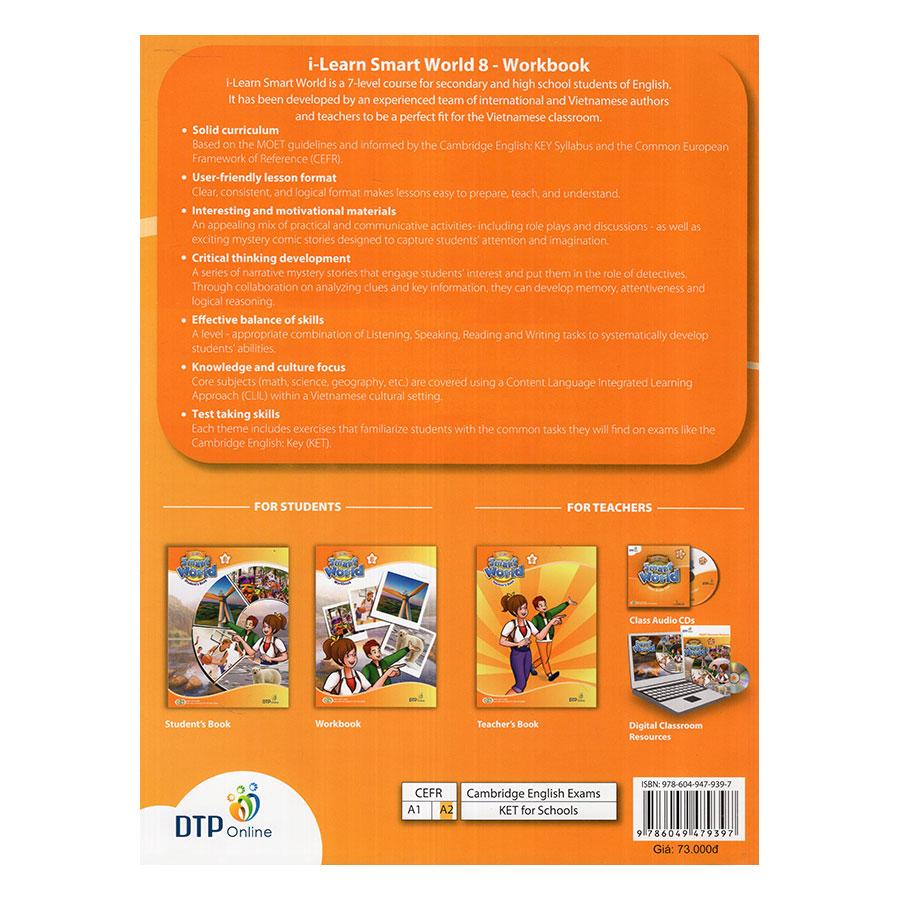 i-Learn Smart World 8 Workbook