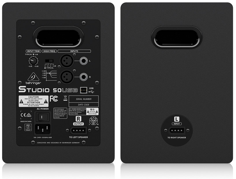 LOA BEHRINGER STUDIO 50USB- Studio Monitoring with USB Input LOA BEHRINGER STUDIO 50USB- Studio Monitoring with USB Input- Hàng chính hãng