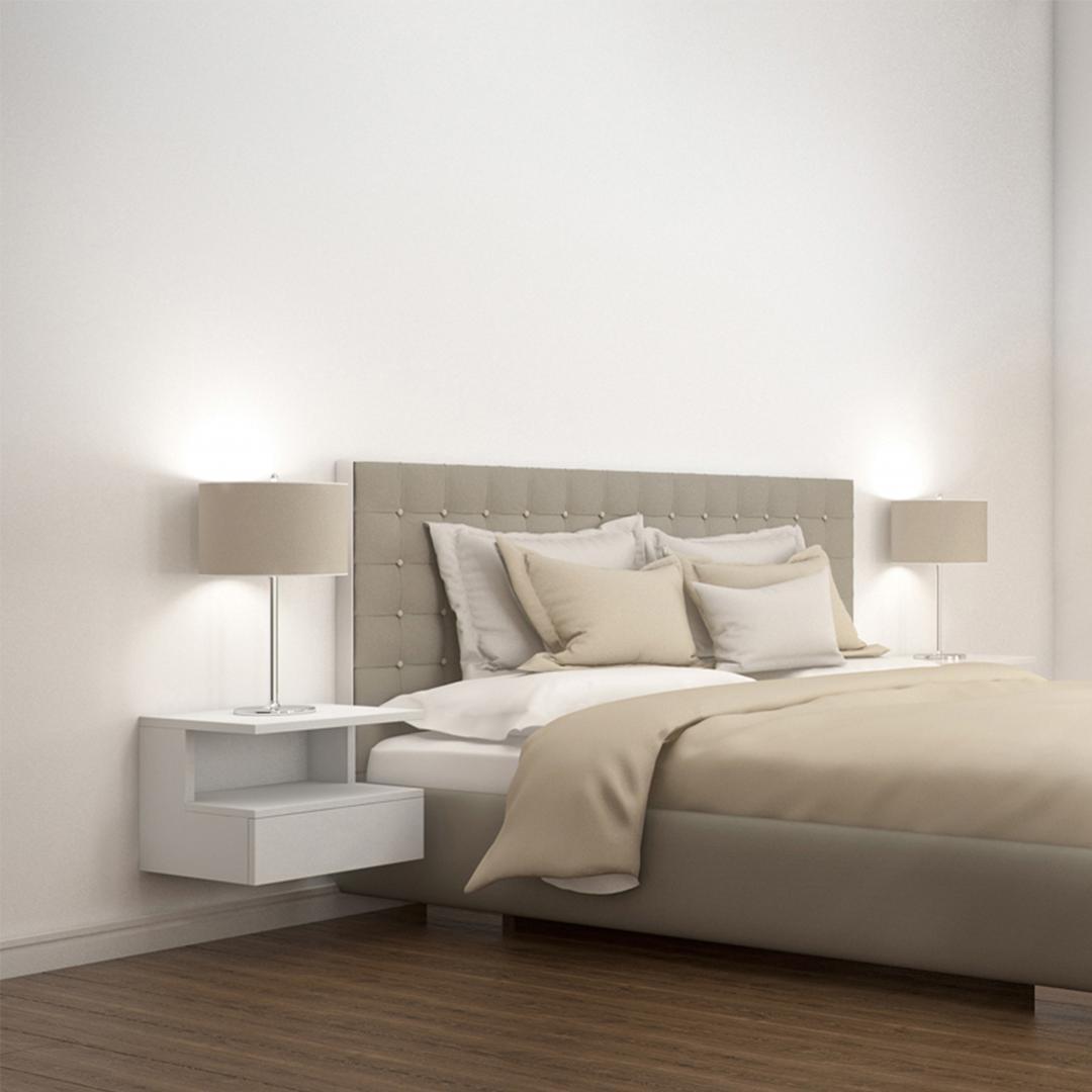 Tủ gỗ đầu giường hiện đại SMLIFE Novak