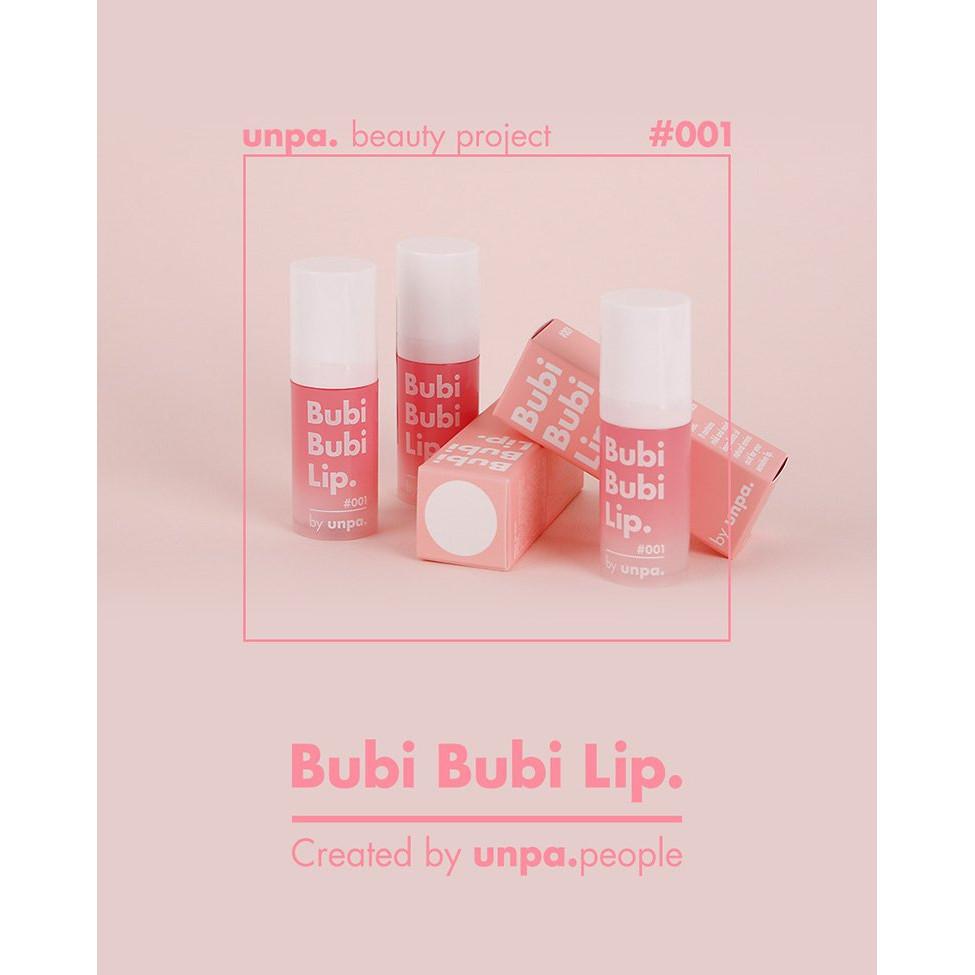 Tẩy Tế Bào Chết Môi Unpa Bubi Bubi Lip 12ml