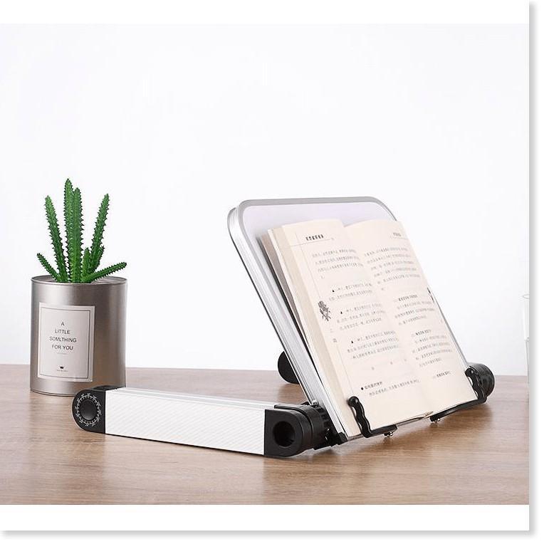 Kệ 360° điều chỉnh tư thế đọc sách Laptop Aluminium ABS