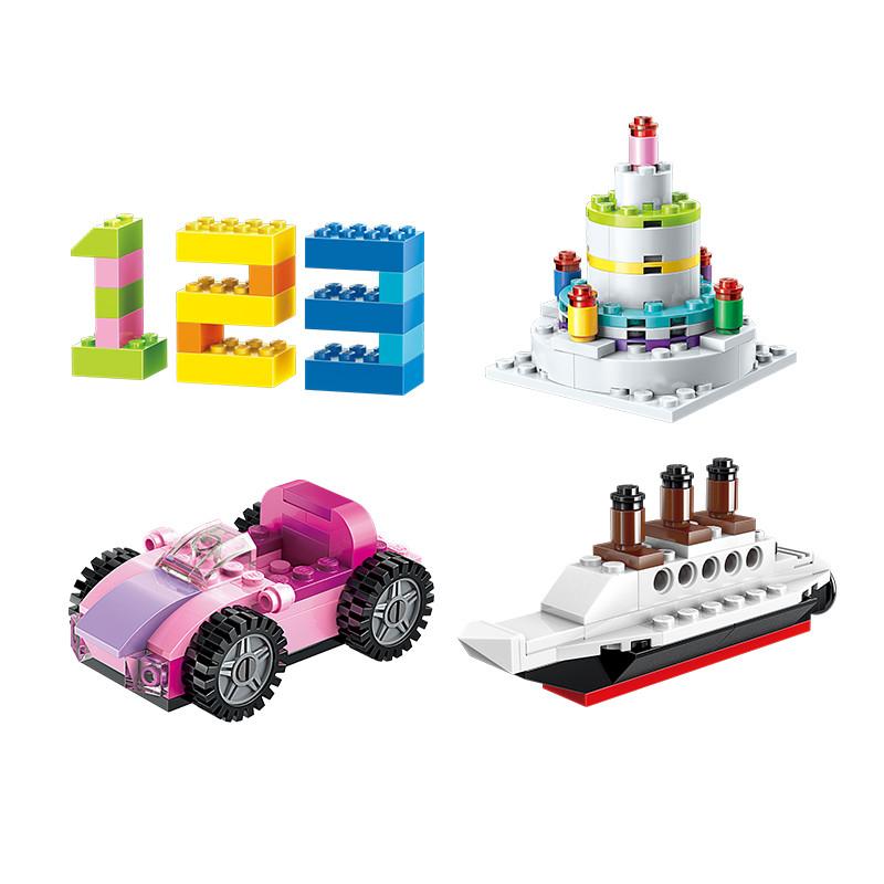 Bộ Lắp Ghép Lego Vuông Đa Chủ Đề Với 460 Chi Tiết Cho Bé Vừa Chơi Vừa Học Phát Triển Tư Duy và Sáng Tạo