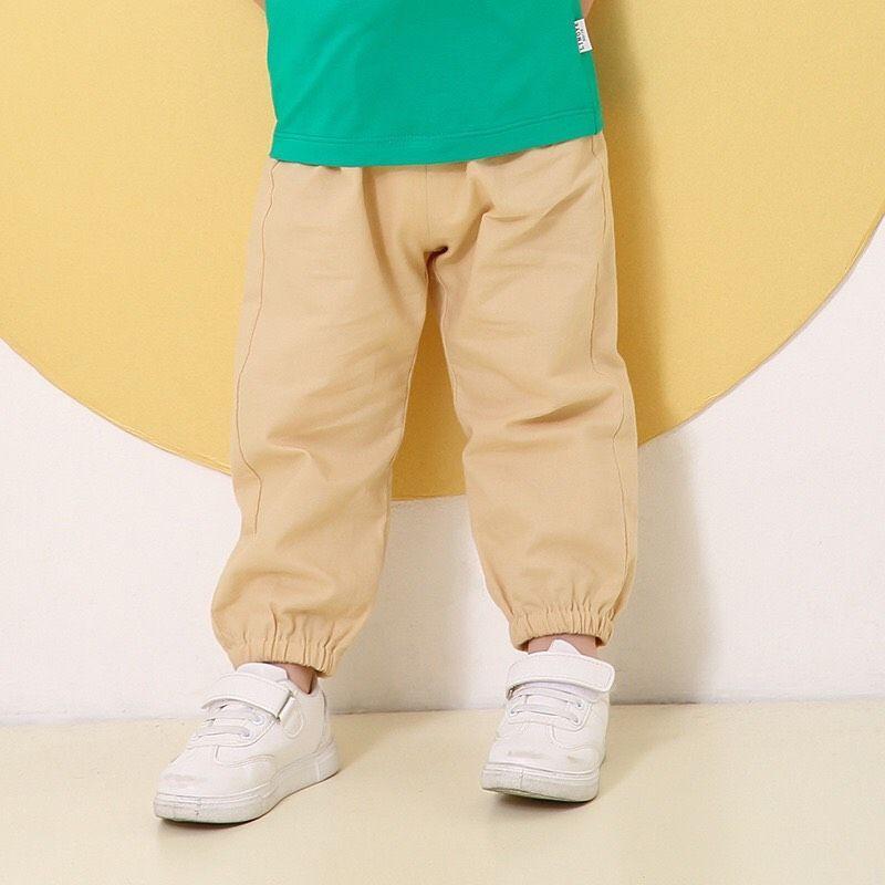 quần đũi dài chun gấu cho bé trai, bé gái