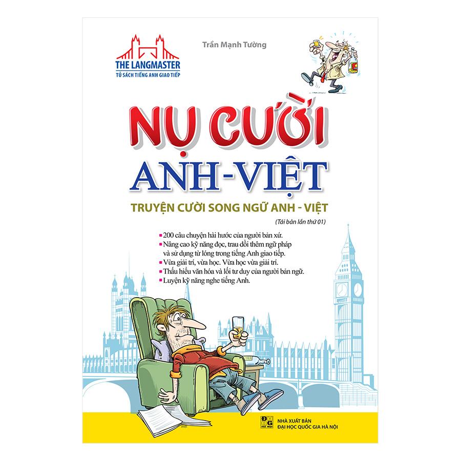 Nụ Cười Anh Việt - Truyện Cười Song Ngữ Anh Việt (Tái Bản 2019)