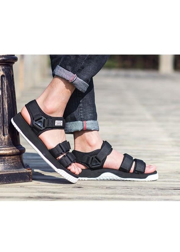 Giày Sandal Nam Nữ Quai Ngang Thời Trang SD9801