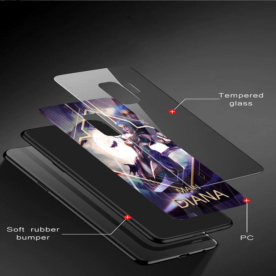 Ốp kính cường lực dành cho điện thoại Samsung Galaxy S9 - liên minh huyền thoại - lmht021 - hàng chất lượng cao