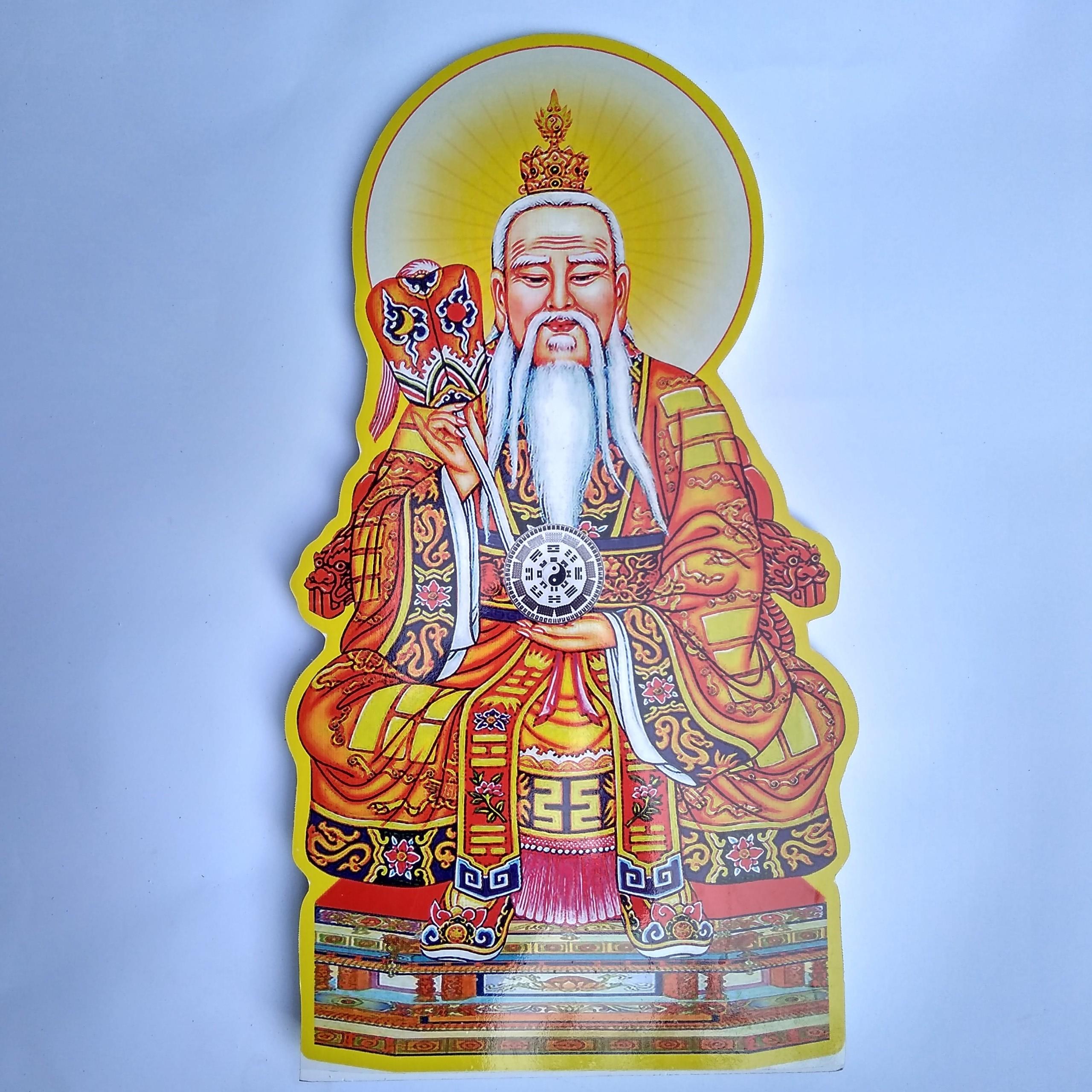 Tranh Thái Thượng 60cm - Xốp fomex