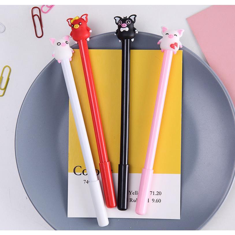 Bộ 2 bút hình heo cute (giao màu ngẫu nhiên)