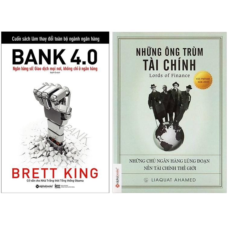 Combo Sách : Bank 4.0 - Ngân Hàng Số : Giao Dịch Mọi Nơi, Không Chỉ Ở Ngân Hàng + Những Ông Trùm Tài Chính