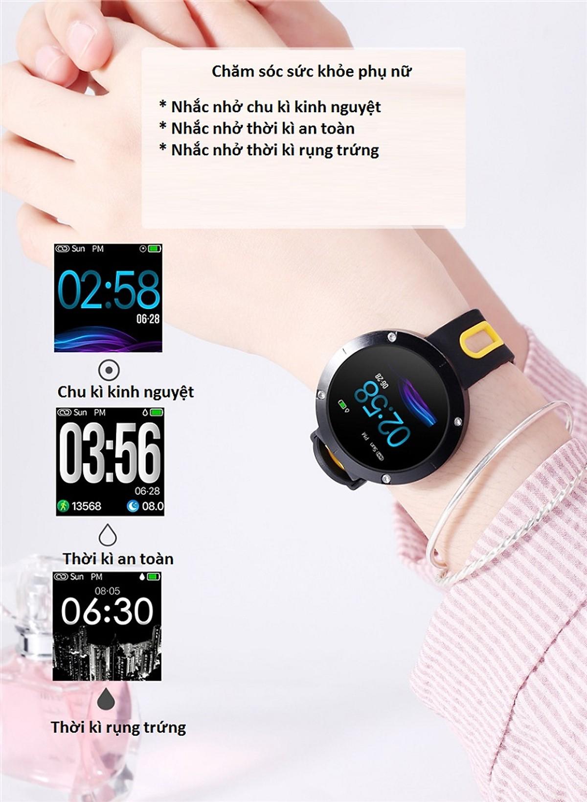 Đồng hồ thông minh DM58 (khả năng chống nước cao IP68) - Hàng nhập khẩu
