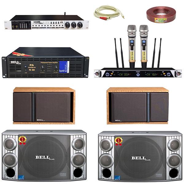 Bộ dàn karaoke gia đình MPS - 9900 BellPlus (hàng chính hãng) VIP
