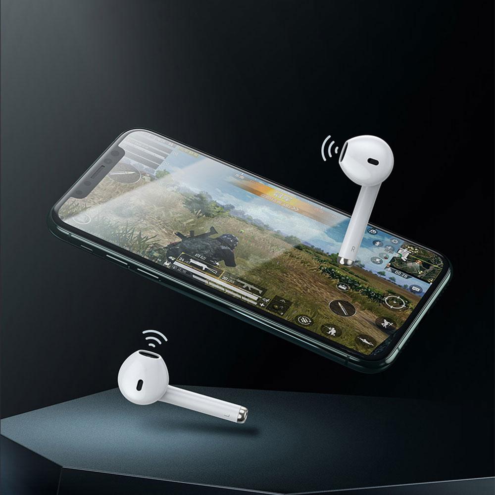 Tai Nghe Không Dây Baseus Encok True Wireless Earphones W04 Pro, Kết Nối Bluetooth 5.0 - Hàng Chính Hãng