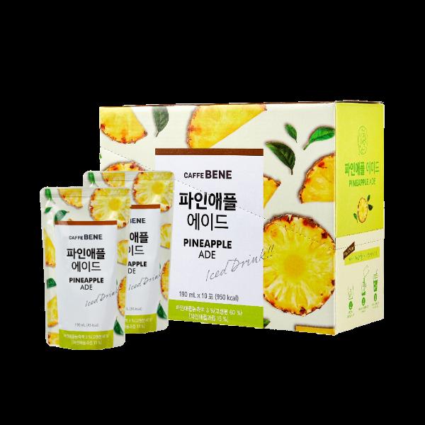 Trà Dứa CAFFEBENE ilikekfood - Hộp 10 gói x 190ml/gói