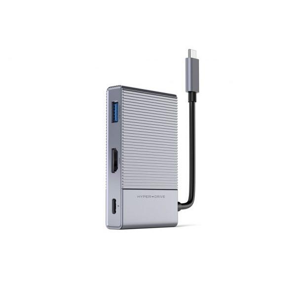 Cổng chuyển/ Hub USB Type-C 6in1 GEN 2 HyperDrive - Hàng Chính Hãng