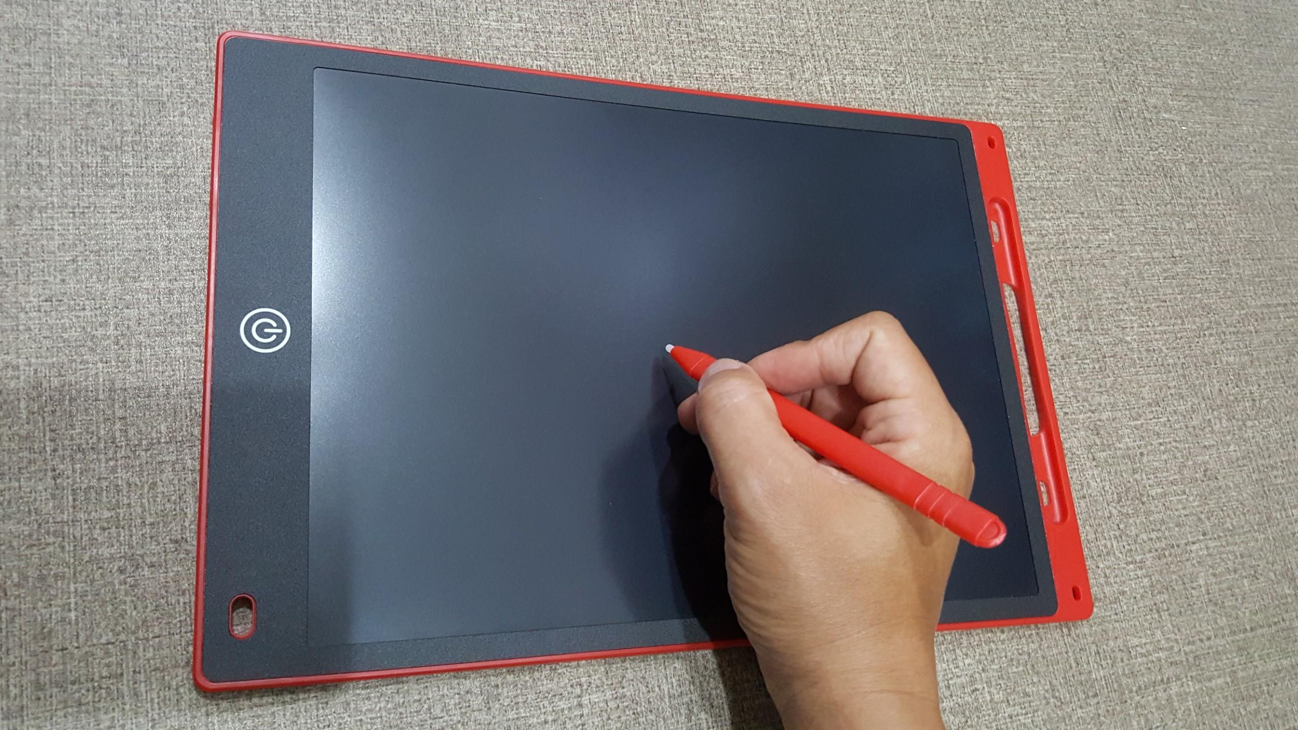 Bảng Vẽ Điện Tử Thông Minh Tự Xoá - Size 12 inch - Màu Đỏ