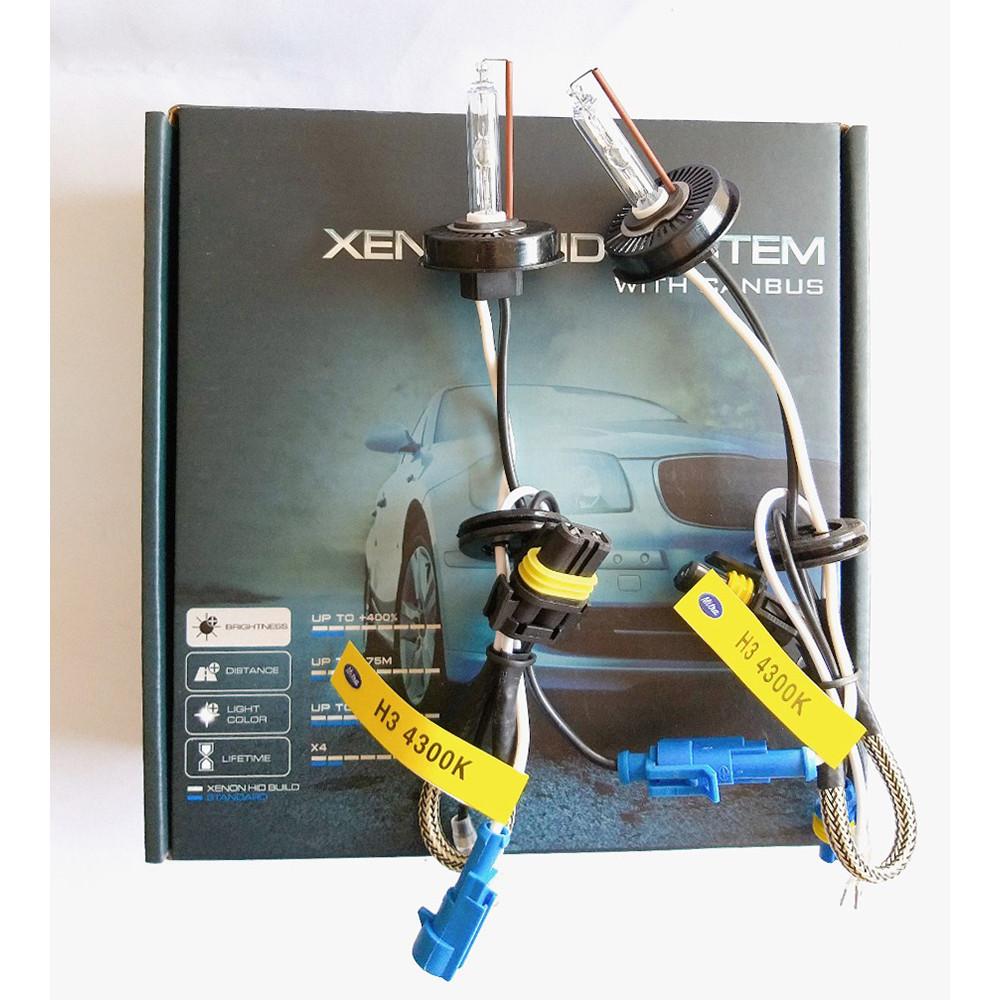 Bộ 2 bóng đèn Xenon HID H3 4300k và 5500k + Ballast 35W