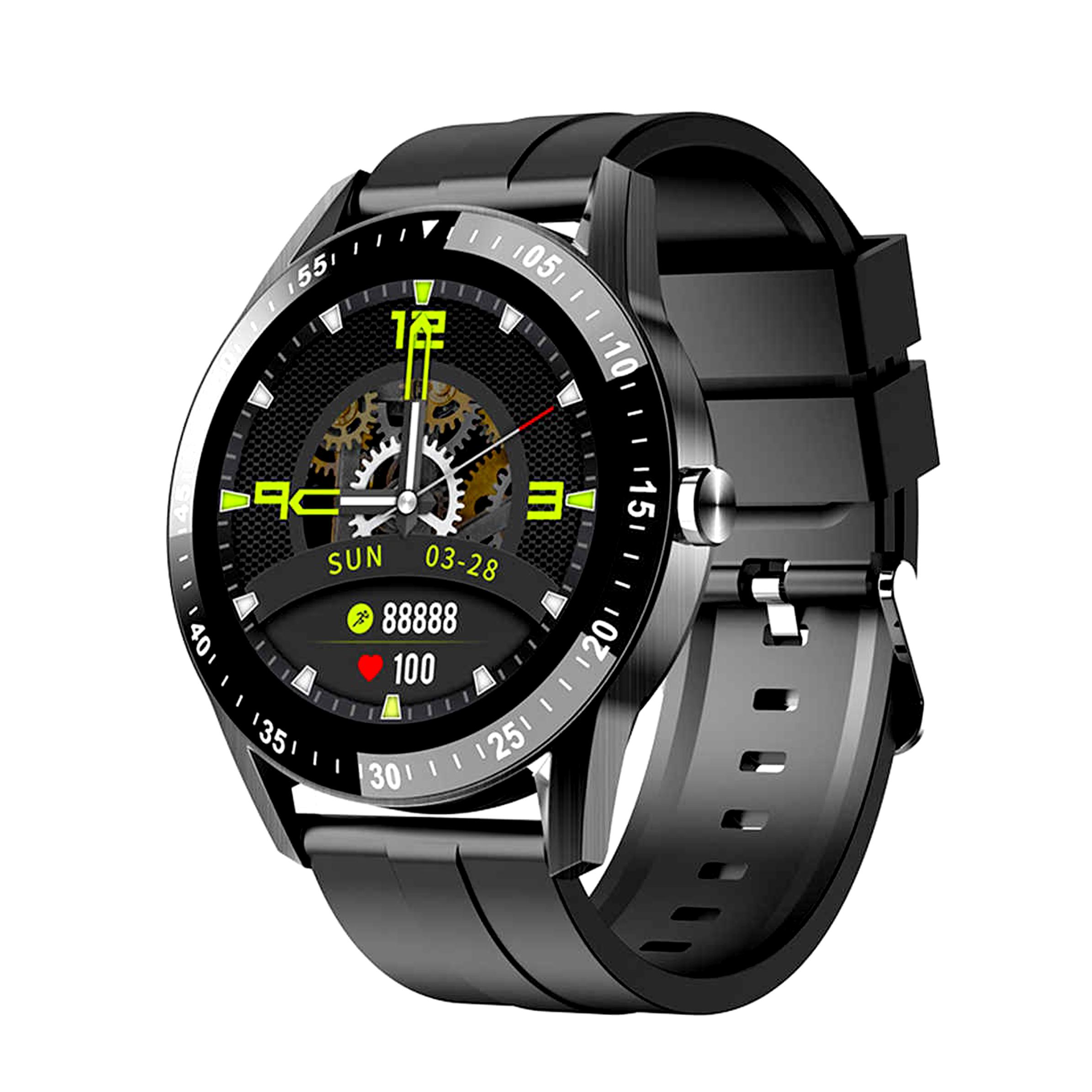 Đồng Hồ Thông Minh Chống Nước AMA Watch S1 | Nam Nữ | Kết nối Bluetooth gọi Điện thoại | Theo dõi Sức khỏe Vận động Đo nhịp tim Huyết áp | Hàng nhập khẩu