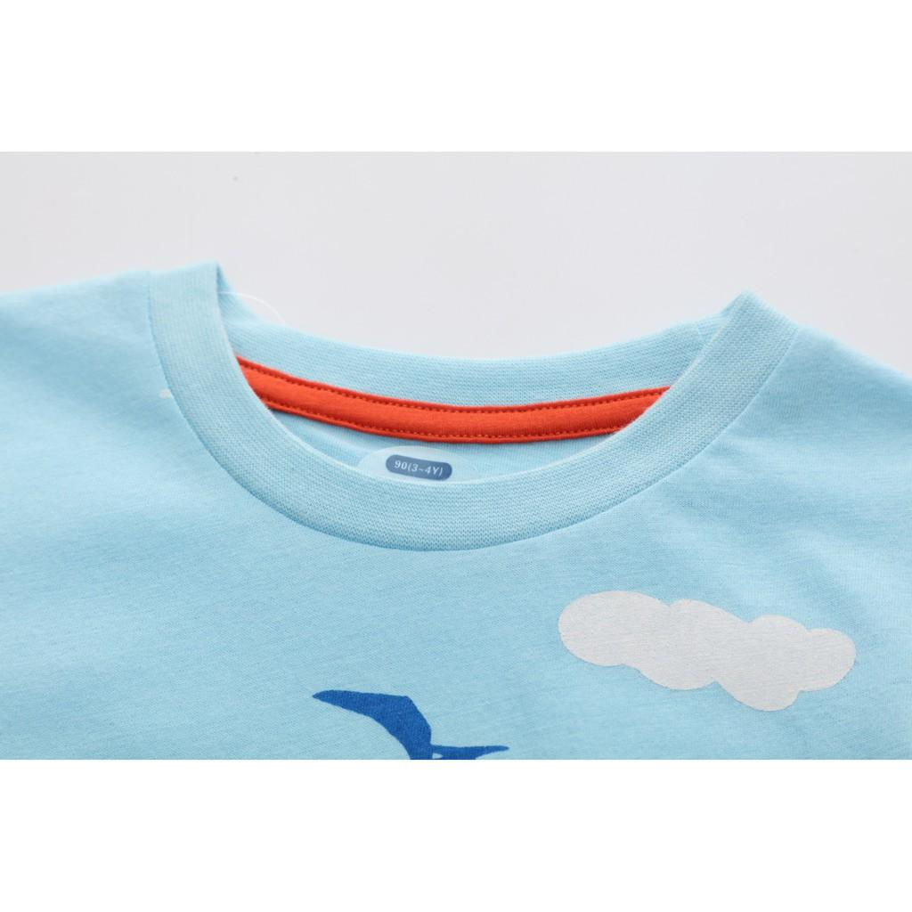Áo bé trai, áo thun cho bé trai chất cotton 100%