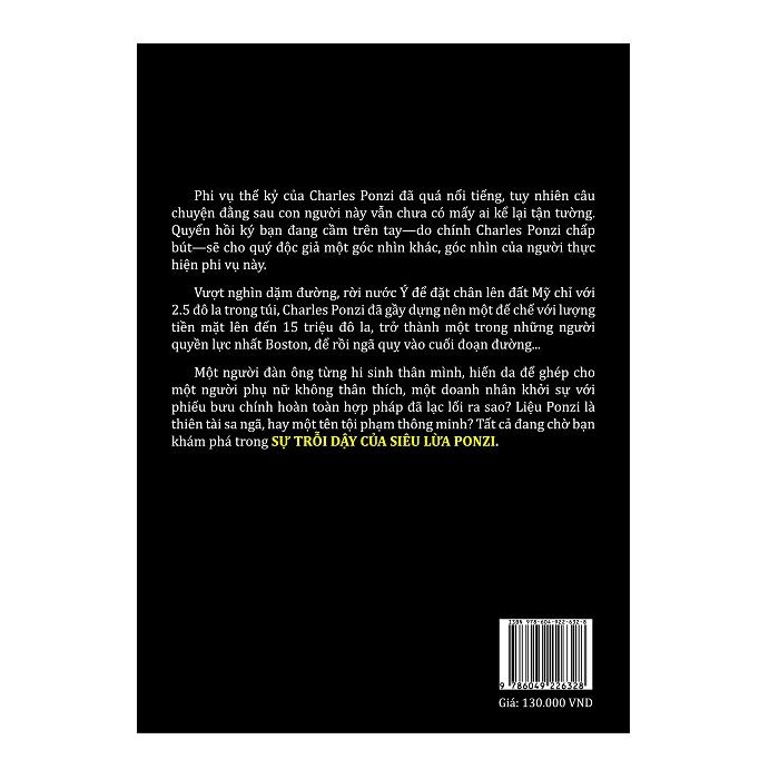 Sự trỗi dậy của siêu lừa Ponzi (tái bản 2018)