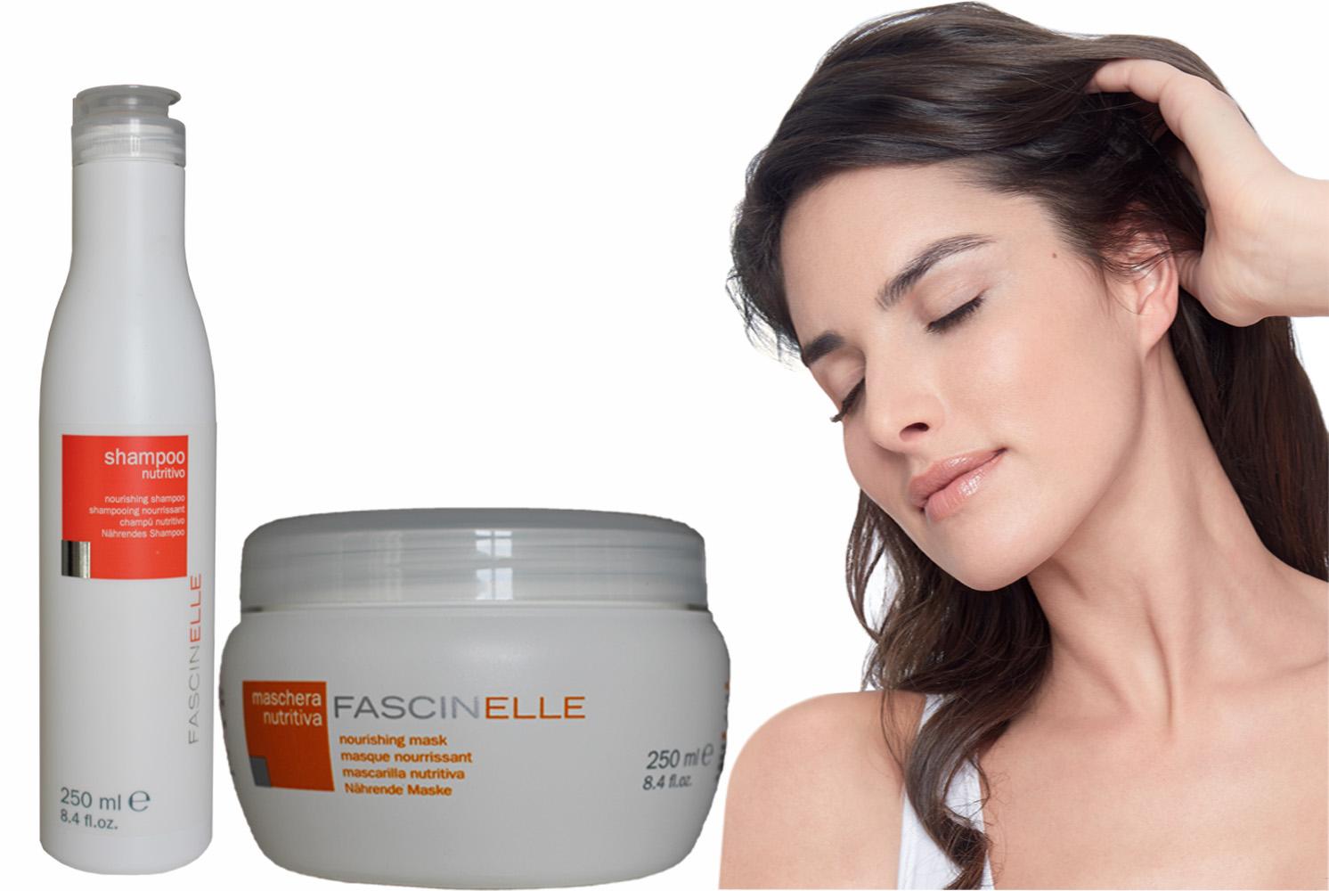Bộ dầu gội dưỡng tóc 250ml  và kem ủ xả dưỡng tóc khô xơ hư tổn 250ml - MNS014
