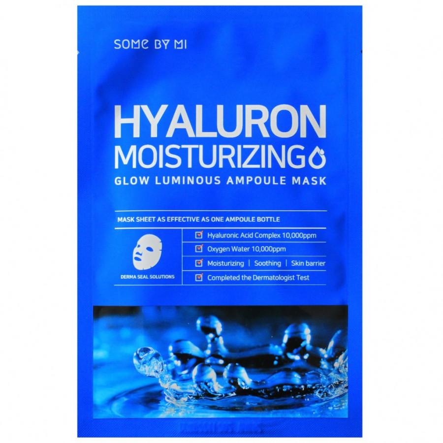Mặt nạ giấy Some By Mi Hyaluron Moisturing Glow Luminous Ampoule Mask