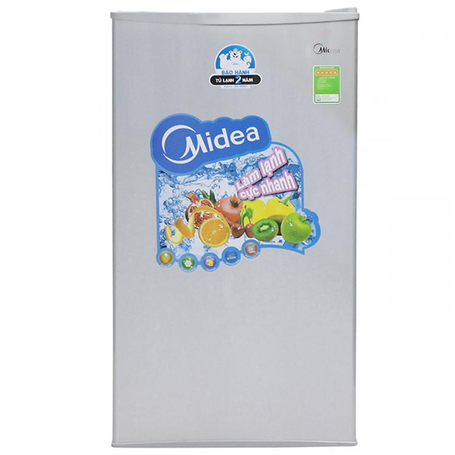 Tủ Lạnh Mini Midea HS-122SN (93L) - Xám Bạc - 1037196771734,62_194576,3500000,tiki.vn,Tu-Lanh-Mini-Midea-HS-122SN-93L-Xam-Bac-62_194576,Tủ Lạnh Mini Midea HS-122SN (93L) - Xám Bạc