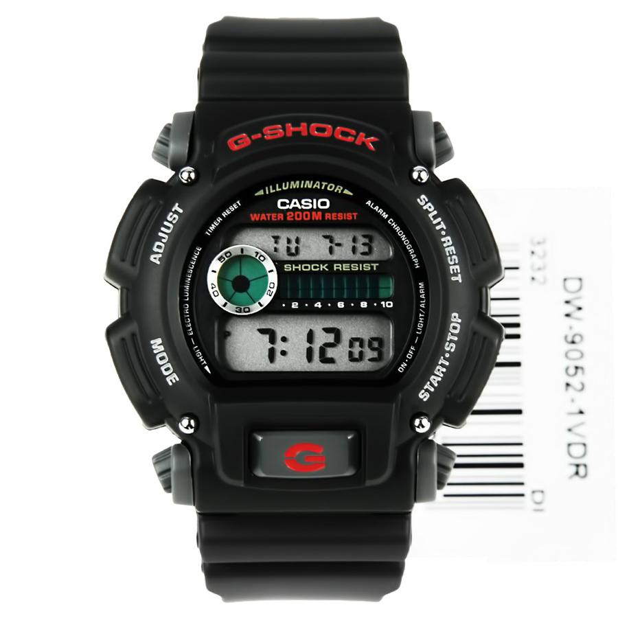 Đồng hồ nam dây nhựa Casio G-Shock chính hãng DW-9052-1VDR