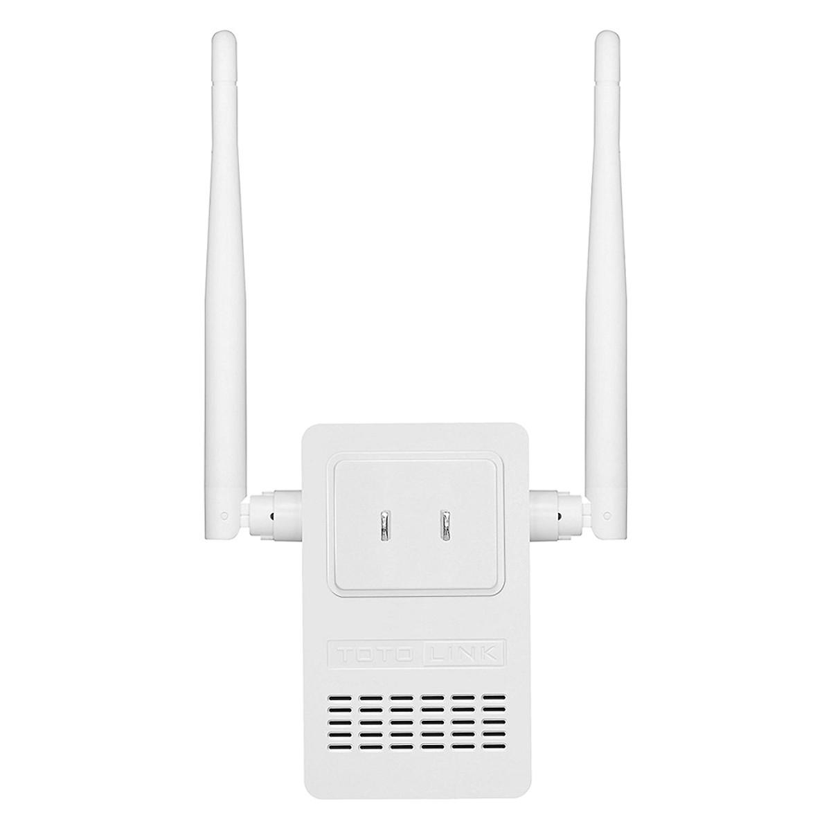 Bộ Kích Sóng Wifi 300Mbps Totolink EX200 - Bộ Mở Rộng Sóng Wifi (Tặng kèm bộ vệ sinh máy tính, điện thoai) - Hàng Chính Hãng