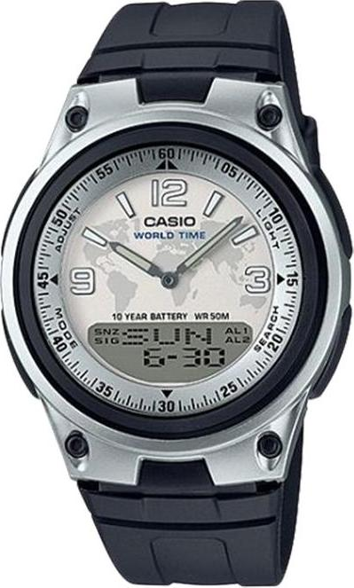 Đồng Hồ Nam Dây Nhựa Casio AW-80-7A2VDF (40mm) - Trắng