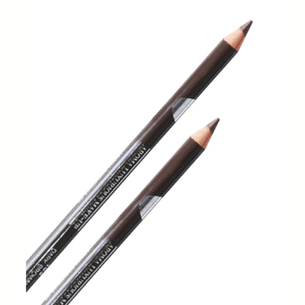 Chì vẽ mí mắt Aroma Eyeliner Pencil Hàn Quốc No.103 Black Brown tặng kèm móc khoá