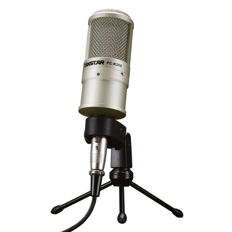 Micro thu âm Takstar PC-K200- Hàng  Chính Hãng