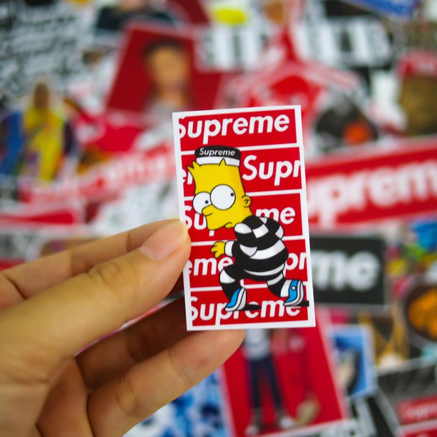 Set 100 Sticker - Supreme