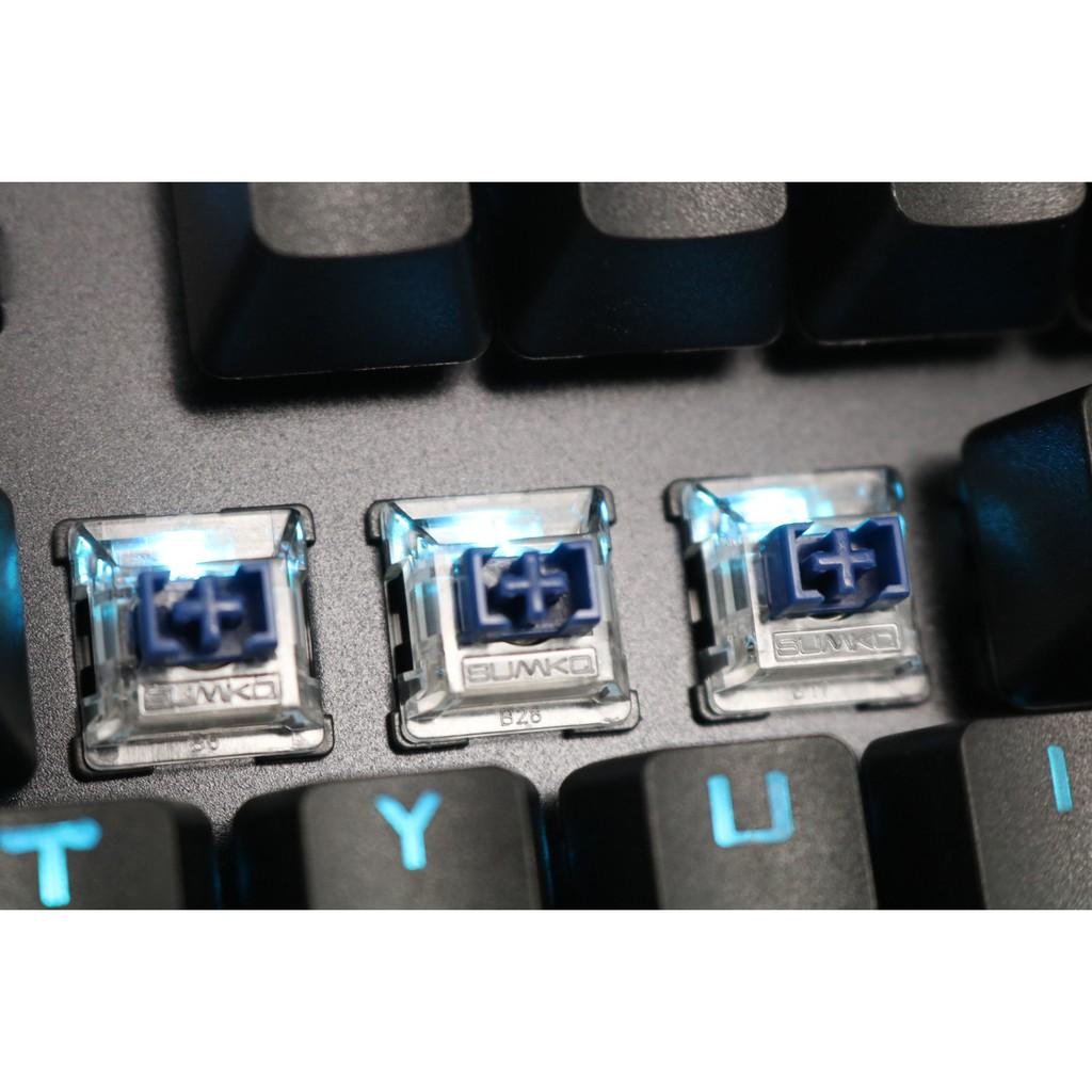 Bàn Phím Cơ G-Net LK718 Blue Switch – Phiên Bản Led Đổi Màu
