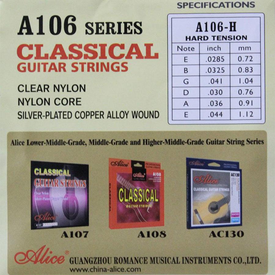 Combo 3 Bộ Dây Dàn Guitar Classic Alice A106P