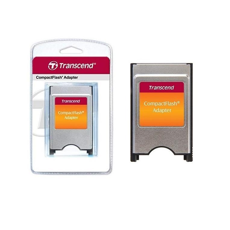 Đầu đọc thẻ nhớ CF sang PCMCIA Transcend - CF Compact Flash PCMCIA - Hàng Chính Hãng