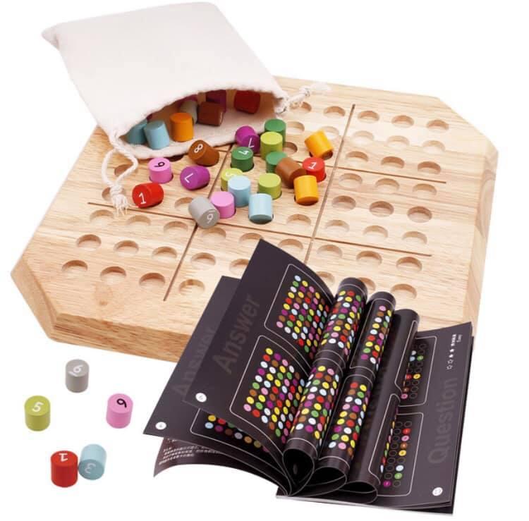 Đồ chơi SUDOKU bằng gỗ