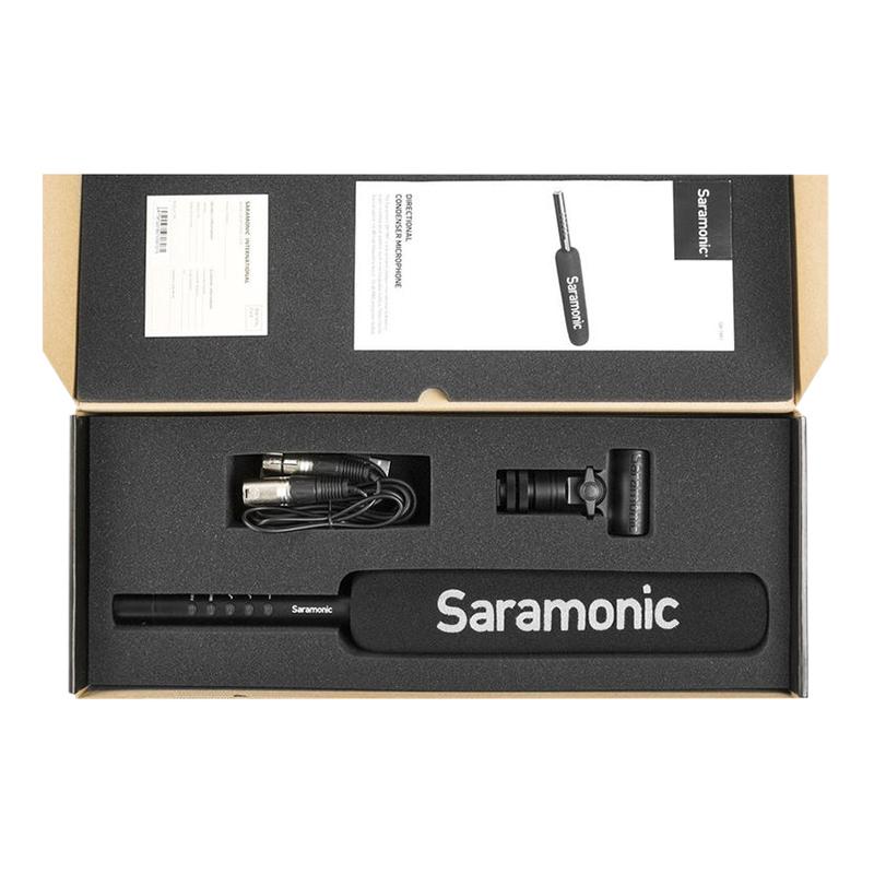 Micro Thu Âm Saramonic SR-TM7 - Hàng Chính Hãng