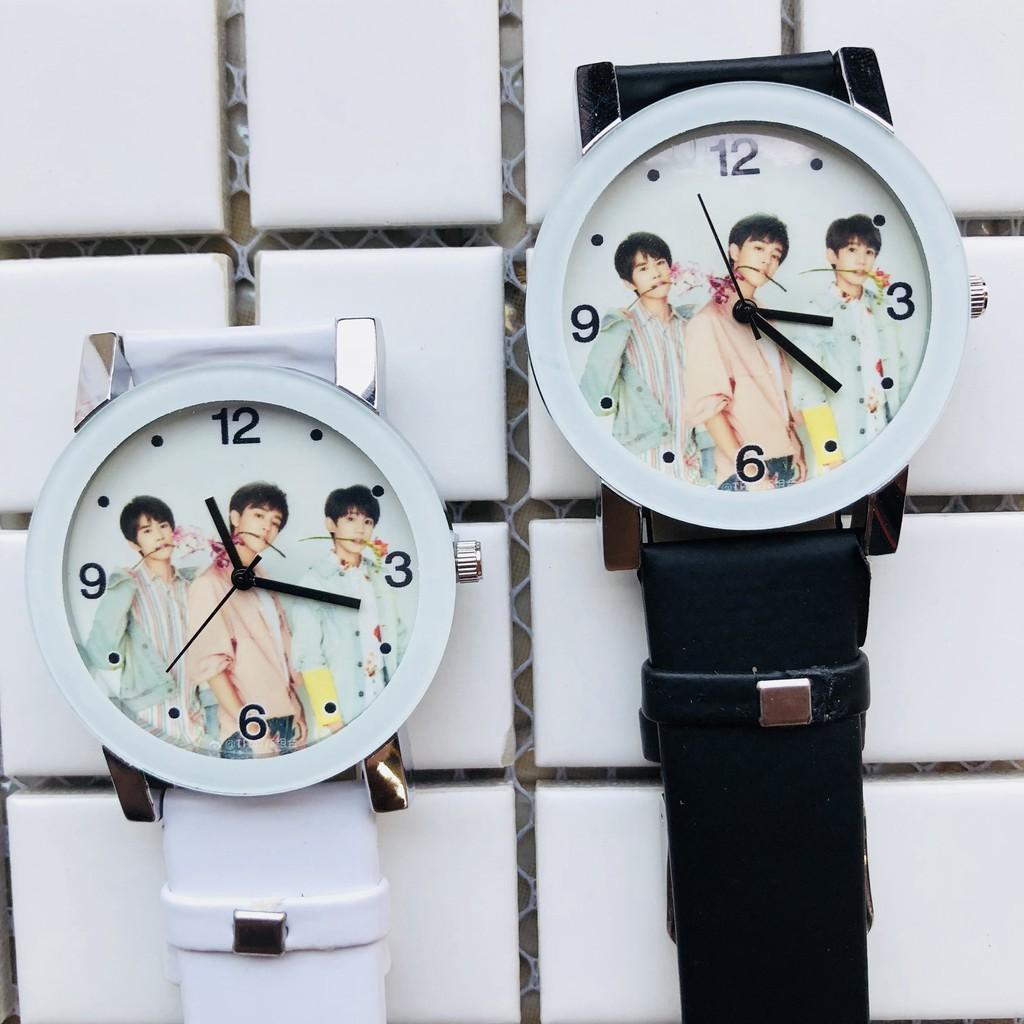 Đồng hồ TFboys đeo tay Style Hàn Quốc