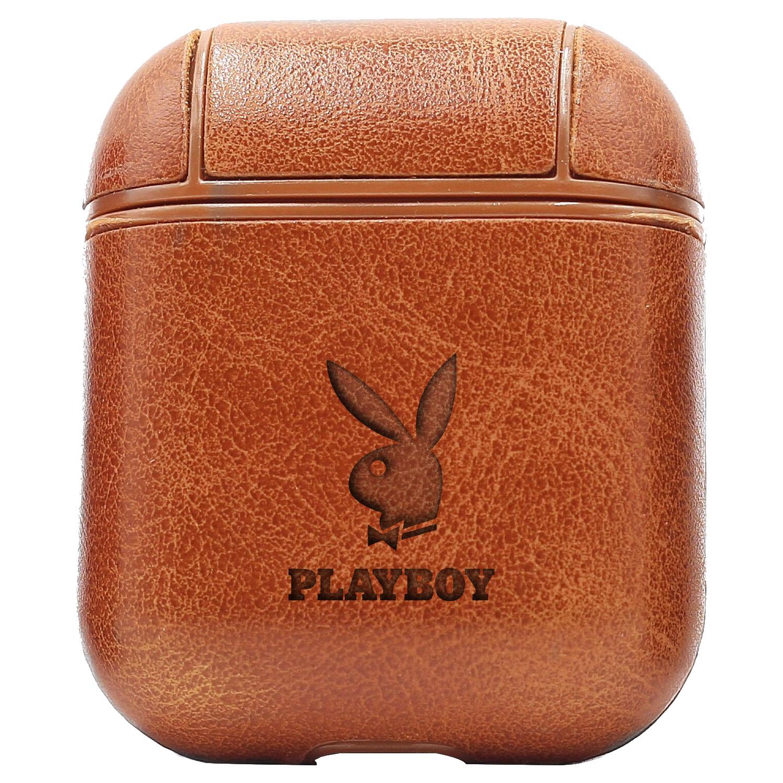 Bao Da Cover Apple Airpods 1 / 2 Premium  Khắc Hình The Playboy