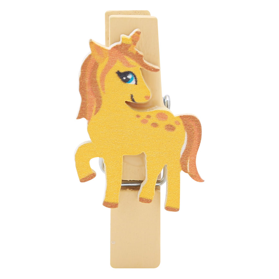 Bộ Kẹp Ảnh Gỗ - Unicorn (10 Cái)
