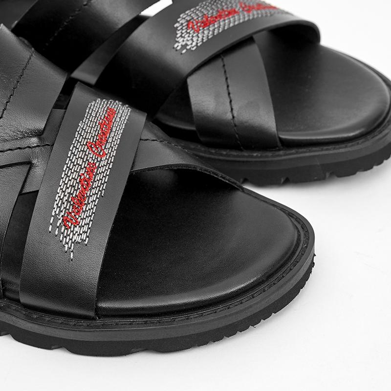 Sandal da-Valentino Creations-VAB-324-BK