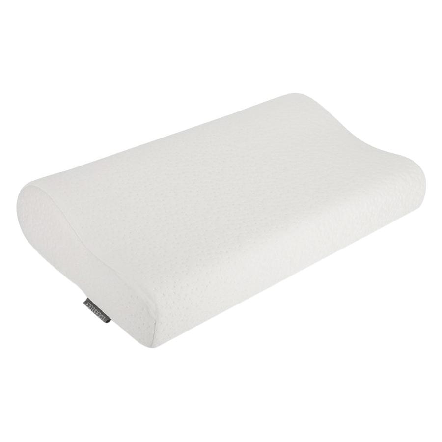 Gối Memory Foam 50D Hình Cong Lock&Lock HLW111 (50 x 30 cm) - Trắng