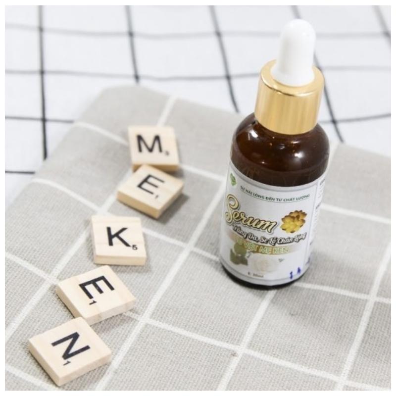 Serum trắng da, se lỗ chân lông ưu việt mẹ ken (10ml)