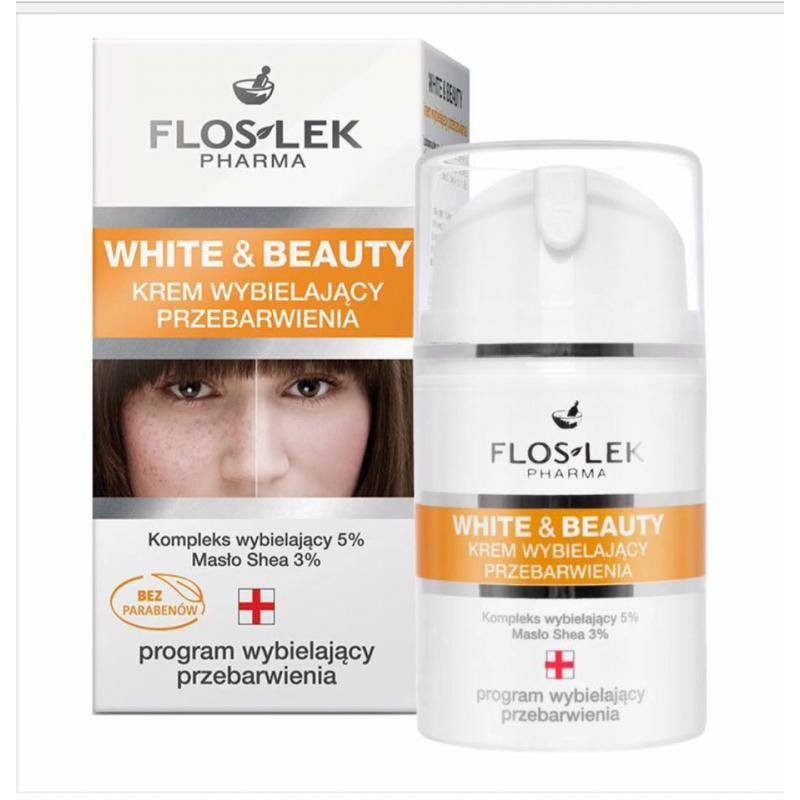Floslek Kem Dưỡng Trắng Spot lightening White And Beauty 50ml